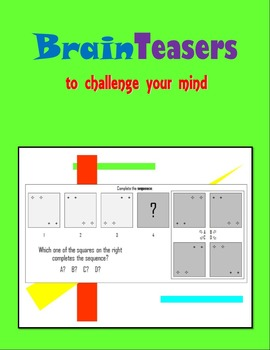 BrainTeasers to challenge your mind:  Patterns