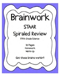 Science STAAR SPIRALED REVIEW fifth grade - 26 ASSIGNMENTS