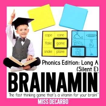Brainamin™ Phonics Edition: Long Vowel A (Silent E)