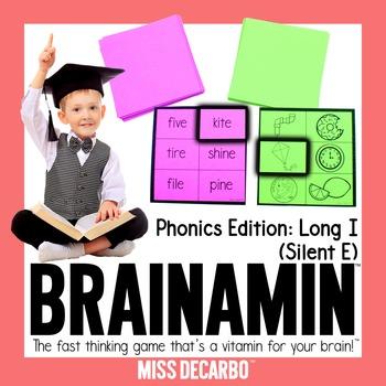 Brainamin™ Phonics Edition: Long Vowel I (Silent E)