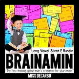 Brainamin Phonics Edition: Long Vowel (Silent E) Bundle
