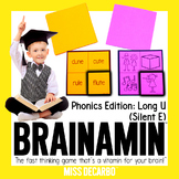 Brainamin™ Phonics Edition: Long Vowel U (Silent E)