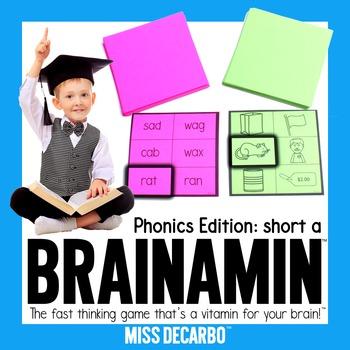 Brainamin Phonics Short A