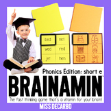 Brainamin Phonics Short E