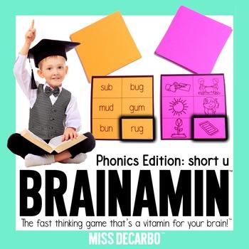 Brainamin Phonics Short U