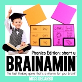Brainamin Phonics Short U