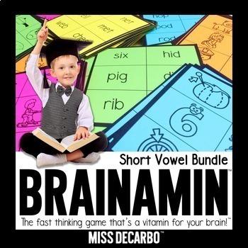 Brainamin Phonics Edition: Short Vowel Bundle