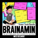 Brainamin Phonics Vowel Team Bundle