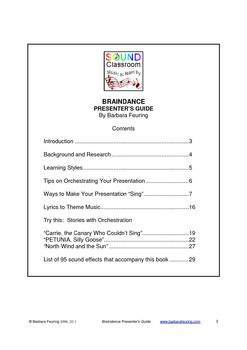 Braindance Presenter's Guide with Music / Sound Effects