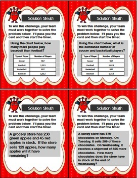 Math Games: Place Value Game, Addition and Subtraction Game, Multiplication Game