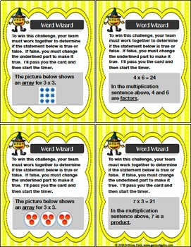 Place Value Game, Addition and Subtraction Game, Multiplication Game Bundle
