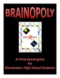 Brainopoly Trivia Distance Learning