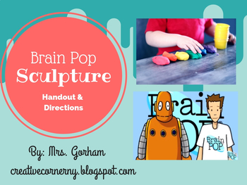 Brainpop Sculpture Handout-Perfect for Sick/Sub Days!
