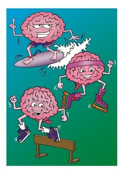 Brains Love Movement Poster