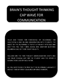 Brains Thoughts Wave Thinking Cap