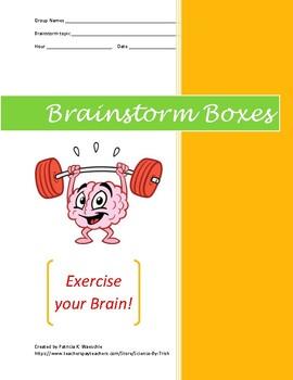 Brainstorm Boxes - Explosives