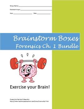 Brainstorm Boxes - Forensics chapter 1 Bundle