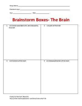 Brainstorm Boxes - The Brain