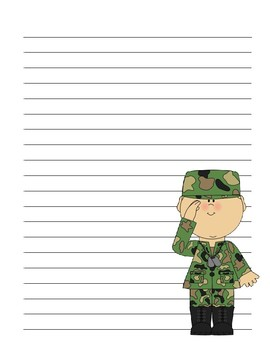 Brainstorm Character Traits for Veteran's Day with Creative Writing
