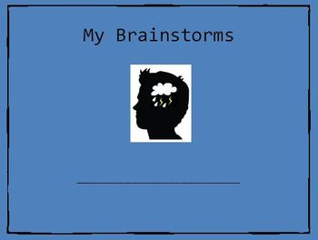 Brainstorm Journal includes Poem!