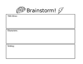 Brainstorm Organizer