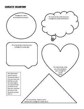 Brainstorm Packet for Suspense Story