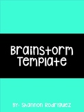 Brainstorm Template