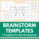 Brainstorm Templates: 5 Basic Mindmap Layouts for the Classroom