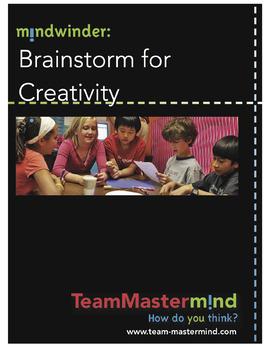 Brainstorm for Creativity ~ A deliberate techinique to increase creativity