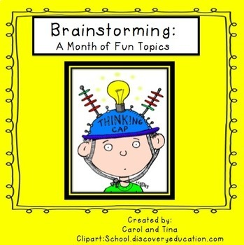 Brainstorming: A Month of Fun Topics