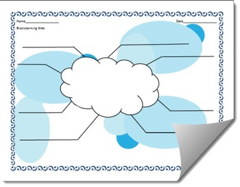 Brainstorming Graphic Organizer Template (Differentiated)