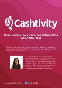 Brainstorming: Conversing and Collaborating About New Ideas