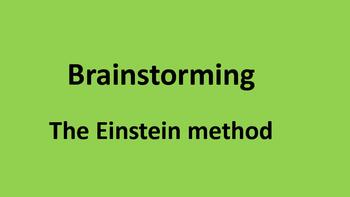 Brainstorming Einstein