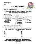 Brainstorming Mini-Lesson