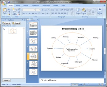 Brainstorming Wheel