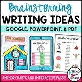 Brainstorming Writing Ideas