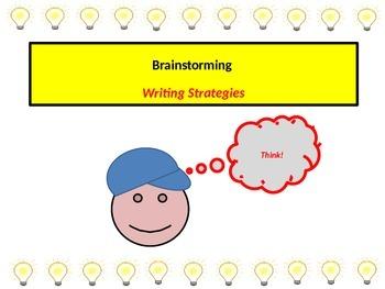 Brainstorming Writing Strategies Using Graphic Organizers