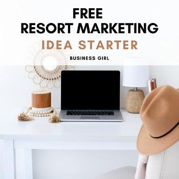 Brainstorming a Business: Resort Digital Vision Board