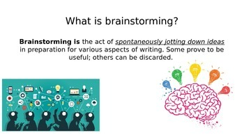 Brainstorming and Integrating Quotes powerpoint