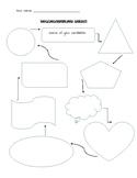 Brainstorming sheet graphic organizer (political candidate)