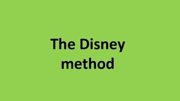 Brainstorming - the disney method