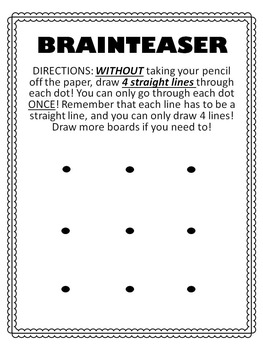 Brainteaser