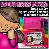 Brainteaser Boxes Task Cards