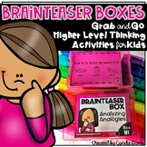 Brainteaser Boxes Task Cards
