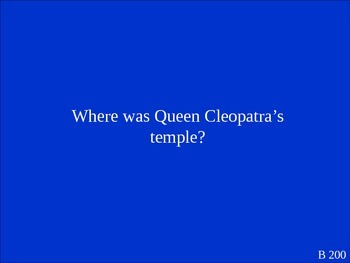 Brainteasers Jeopardy