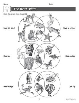 Brainy Acts with Venn Diagrams