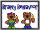 Brainy Bears Behavior Clip Chart