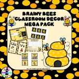 Brainy Bee Classroom Décor Mega Pack!