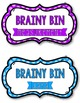 Brainy Bins MATH: Inquiry Based activites for Early Finishers *EDITABLE*