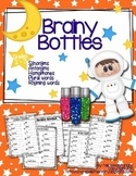 Brainy Bottles 2nd-3rd - ELA Word Search {Homophones, Syno